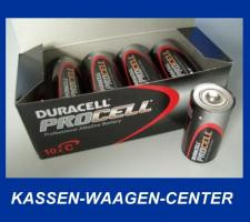 10 Stk. DURACELL Procell 1,5 V - Baby / C-Cell / LR14
