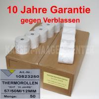 Thermobonrollen 57 mm - Wärmefest 10 Jahre haltbar